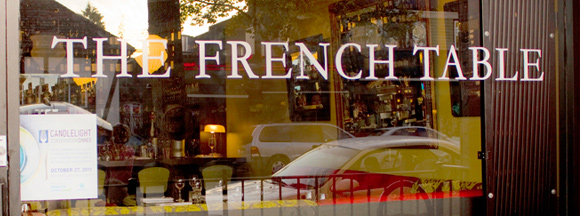 French Table Restaurant On Main St. Vancouver